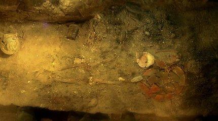 Gvatemaloje archeologai rado majų karalienės palaikus