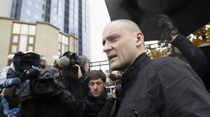Bado streiką kalėjime paskelbęs S.Udalcovas antrąkart hospitalizuotas