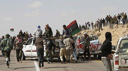 Libijos sukilėliai žurnalistus iš Rusijos palaikė šnipais