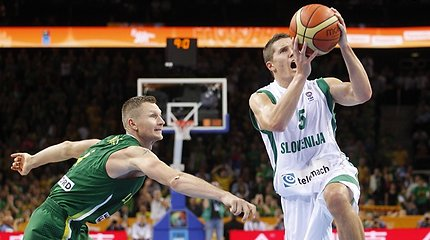Paskelbtas Slovėnijos krepšinio rinktinės kandidatų sąrašas
