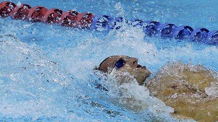Į plaukimą grįžo daugkartinis olimpinis čempionas Ianas Thorpe'as