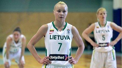 """Lietuvos moterų krepšinio rinktinei Aušra Bimbaitė pasakė """"ne"""""""