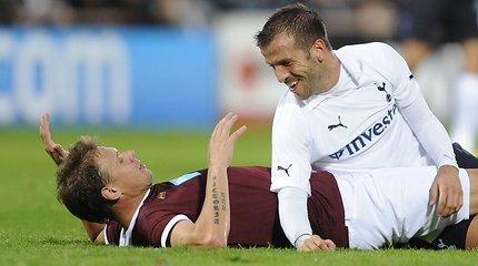 """Pažeminimas: lietuviškąjį Edinburgo """"Hearts"""" sutrypė Londono """"Tottenham"""""""