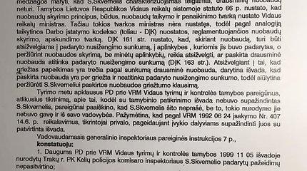 Saulius Skvernelis paviešino prieš 20 metų gautos nuobaudos dokumentus
