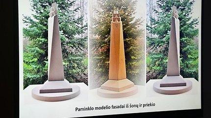 Alytuje pristatyta Dainavos apygardos partizanams skirto paminklo idėja
