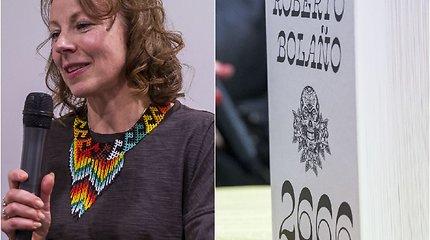 """Roberto Bolaño vertėja Alma Naujokaitienė: jei ne mano užsispyrimas, knygos """"2666"""" nebūtų"""