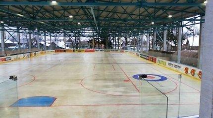 Rokiškio ledo aikštelė gali likti be atidarymo ceremonijos