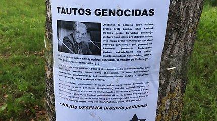 Valstybinės šventės išvakarėse – provokacija Bagaslaviškyje