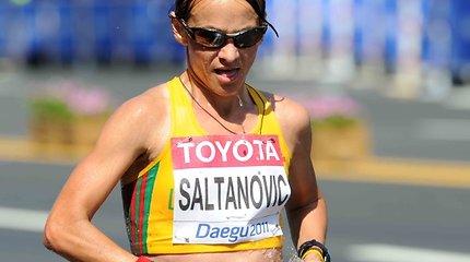Ėjikė Kristina Saltanovič pasaulio lengvosios atletikos čempionate – aštunta