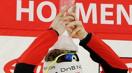Pasaulio biatlono taurė – triskart pasaulio čempionui Tarjei Boe