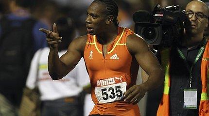 Sprinteris Yohanas Blake'as aplenkė Usainą Boltą ir pasiekė geriausią sezono rezultatą pasaulyje