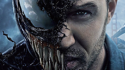 """""""Venomu"""": filmas apie charizmatiškąjį antiherojų su Tomu Hardy"""