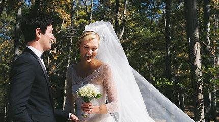 Supermodelis Karlie Kloss įsiliejo į Trumpų šeimą: ištekėjo už multimilijonieriaus Joshua Kushnerio