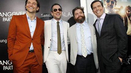 """Filmo """"Pagirios 3: velniai žino kur"""" premjera Los Andžele"""