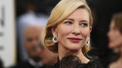 "Holivudo aktorė, ""Oskaro"" laureatė Cate Blanchett"