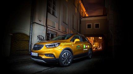 """""""Metų automobilis 2017"""" konkurso dalyvis: """"Opel Mokka X"""""""