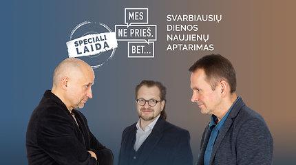 """Specialus 15min podkastas """"Mes ne prieš, bet..."""": naujas pilkasis R.Karbauskio kardinolas L.Kontrimas"""