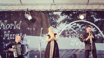 """Folk trio"" pristatė Lietuvą Japonijoje"