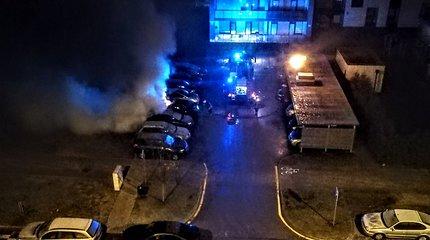 Sulaikyti įtariamieji, Vilniaus Pilaitėje sprogdinę VW automobilį