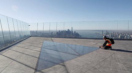Niujorke pristatyta aukščiausia apžvalgos aikštelė