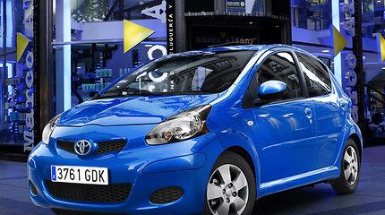 """Naujos kartos """"Toyota Aygo"""" konkuruos su """"Volkswagen Up!"""""""