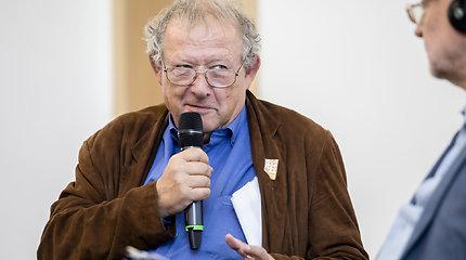 """Adamas Michnikas diskusijoje """"Rusija ir Baltarusija – kaimyninių valstybių galvos skausmas"""""""