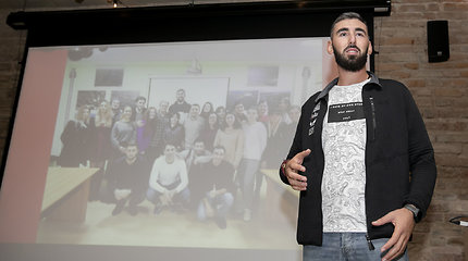 Niko Amirgulašvili padėkos vakaras kelionės rėmėjams