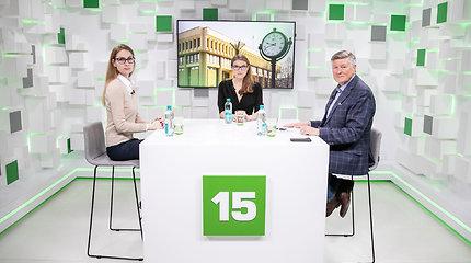 15min studijoje – Rima Urbonaitė ir Artūras Paulauskas