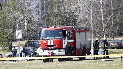 Vilniaus centre įvyko sprogimas, dingo elektra, išsijungė sankryžos šviesoforai