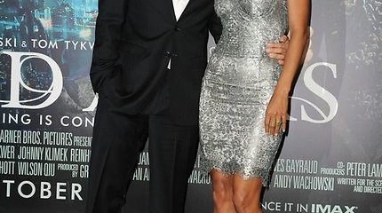 Aktorės Halle Berry namuose susimušę Olivier Martinezas ir Gabrielis Aubry viešumoje pasirodė su kraujosruvomis
