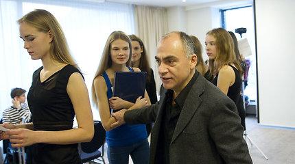 Pasaulinio lygio modelių agentūros naujų veidų dairėsi Vilniuje
