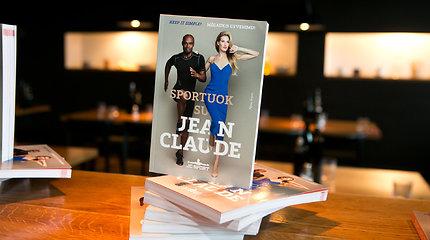 """Knygos """"Sportuok su Jean Claude"""" pristatymas"""