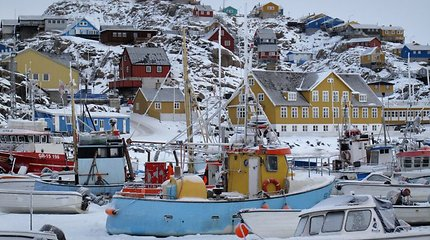 Grenlandijoje trisdešimtmetė moteris atrodo kaip šešiasdešimties