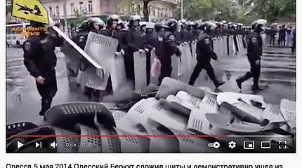 Viršininko nurodymus įvykdę pareigūnai giriami kaip protestuotojai prieš sistemą