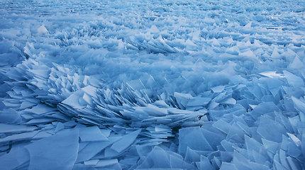 Mičigano ežeras žiemą
