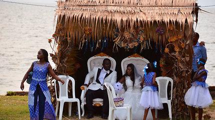 Gabone pavyko sudalyvauti ir vestuvėse