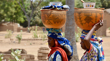 Pouss miestelis prie Čado pasienio
