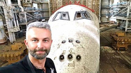 60 valandų trukęs Šarūno Jasiukevičiaus-Praeities žvalgo žygis į Rusijos kosmodromą