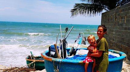 Į Vietnamą su vaikais!