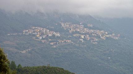 Baunei apylinkės Sardinijoje