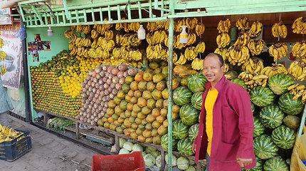 Adis Abebos turgus Etiopijoje