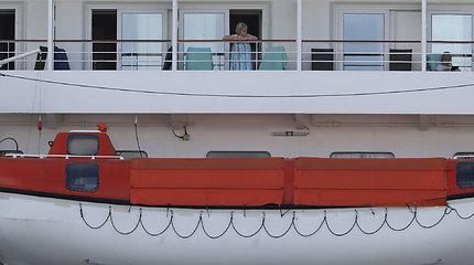 """Australijoje karantinuotas """"Artania"""" laivas"""