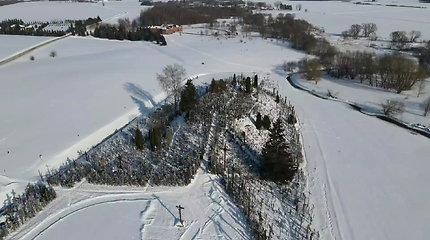Kryžių kalnas žiemą