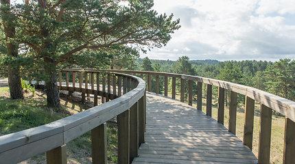 Juodkrantėje bus įrengtas naujas parko lankytojų centras