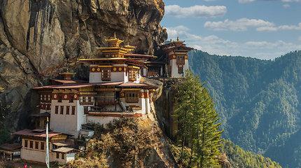 Butano karalystė Himalajų kalnuose