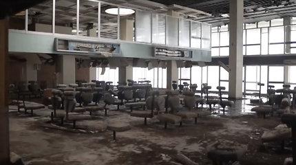 Laike nuo 1974-ųjų sustingęs apleistas oro uostas Kipre