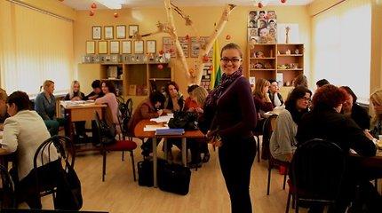 Vilniaus Saulėtekio vidurinėje mokykloje vyko Pestalozzi programos kvalifikacijos kėlimo mokymai