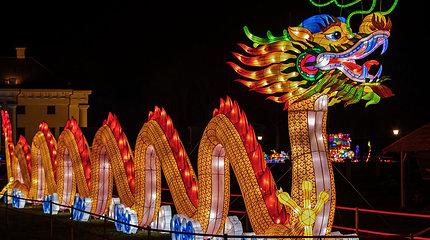 """Žinomi žmonės šviesų festivalyje """"Didieji Kinijos žibintai"""""""