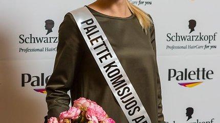 """Gražiausių plaukų konkursas """"Miss Palette"""""""