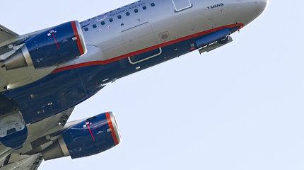 Kremliaus draudimas skraidinti į Sakartvelą Rusijos oro bendrovėms jau kainavo 1 mlrd. rublių